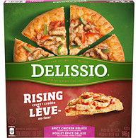 Rising Crust Spicy Chicken Deluxe Pizza