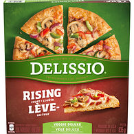 Rising Crust Pizza, Veggie Deluxe