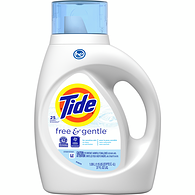 Free&Gentle Liquid Detergent, Scent Free