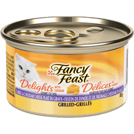 Delights with Cheddar Grilled Turkey & Cheddar Cheese Feast in Gravy Cat Food