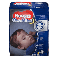 OverNites, Jumbo Pack Size 6 Diapers