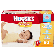 Little Snugglers, Super Pack Size 2 Diapers