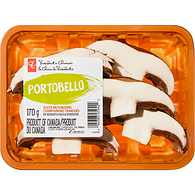 Portobello Mushrooms, Sliced