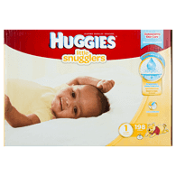 Little Snugglers, Mega Colossal Pack Size 1 Diapers