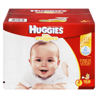 Little Snugglers, Mega Colossal Pack Size 2 Diapers (Case)