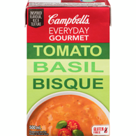 Everyday Gourmet, Tomato Basil Bisque
