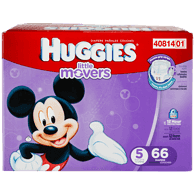 Little Movers, Super Pack Size 5 Diapers