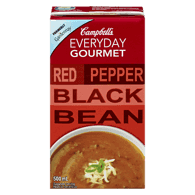Everyday Gourmet, Red Pepper Black Bean