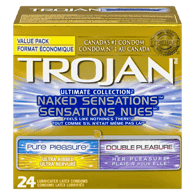Naked Sensations Condoms, Variety Pack