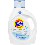 HE Laundry Detergent, Fragrance Free