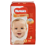 Little Snugglers, Jumbo Pack Size 2 Diapers