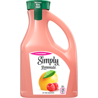 Simply Lemonade with Raspberry