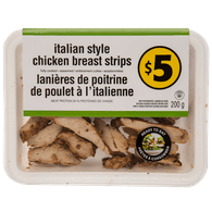 Italian-Style Chicken Breast Strips