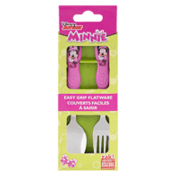 Minnie Mouse Flatware GoPak Plastic Fork & Spoon Set