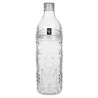 Embossed Water Bottle 1L