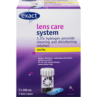 Contact Lens Solution, Twin Pack