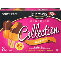 Options Ice Cream Bars, Tiger Paw