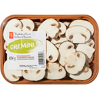 Cremini Mushrooms, Sliced
