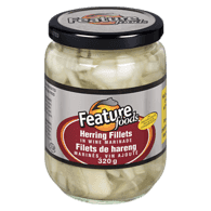 Herring Fillets in Wine Marinade