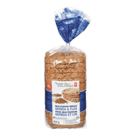 Quinoa and Flax Bread
