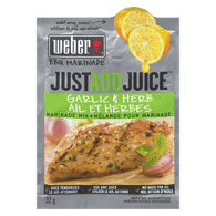 Just Add Juice BBQ Marinade, Garlic & Herb