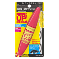 Volum' Express Pumped Up! Colossal Waterproof Mascara, Classic Black