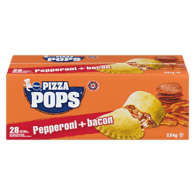Pizza Pops, Pepperoni & Bacon