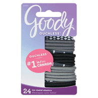 Ouchless Elastics, Black And White