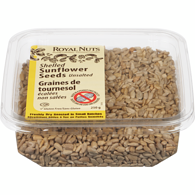 Dry Roasted Shelled Sunflower Seeds, Unsalted
