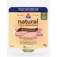 Natural Selections Smoked Black Forest Ham, Club Pack