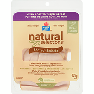 Natural Selections Oven Roasted Turkey Breast, Family Pack