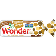 100% Whole Wheat Plus Fibre Bread