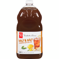 Half & Half Lemonade with Iced Tea