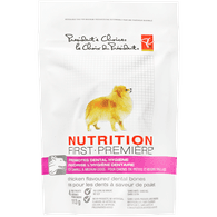 Nutrition First Dental Bones With Chicken & Turmeric Dog Treats For Small & Medium Dogs