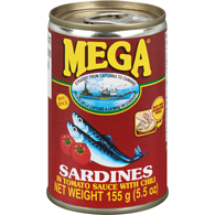 Mega Sardines, In Tomato Sauce Chili Added