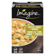 Organic Imagine, Potato Quinoa & Spinach