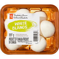 White Mushrooms, Whole