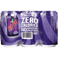 Zevia Soda, Grape