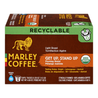 Single Serve Pods, Get Up Stand Up Light Roast