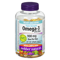 Omega-3 Triple Strength, 900mg