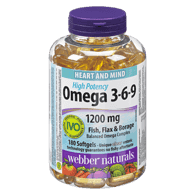 Omega-3-6-9 1200mg, High Potency