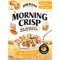 Morning Crisp Granola Clusters Honey Nut