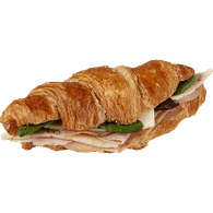 Ham and Swiss Breakfast Croissant