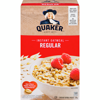 Instant Oatmeal, Regular