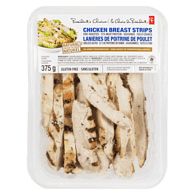 Fire-Roasted Fully Cooked <Br/>Chicken Breast Strips
