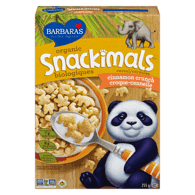 Organic Snackimals Cereal, Cinnamon Crunch