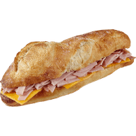 Ham and Compté Cheese Baguette