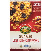Sunrise Crunchy Cinnamon