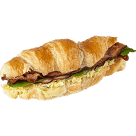 Bacon and Egg Salad Breakfast Croissant