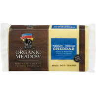Organic Cheese, Medium Cheddar